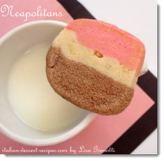 These neapolitan cookies are part of my traditional Italian cookie recipes collection. These are one of the rolled cookie recipes.See this and over 235 Italian Dessert Recipes with photos. Italian Cookie Recipes, Italian Cookies, Italian Desserts, Baking Recipes, Game Recipes, Recipies, Vegan Recipes, Italian Rum Cake, Italian Bakery
