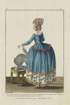 Gallerie des Modes, 1780.