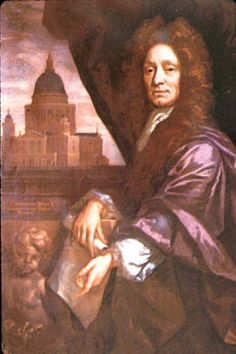1723 - Sir Christopher Wren, highly acclaimed English architect and architect of St Paul's Cathedral Ap European History, Uk History, British History, Great Fire Of London, The Great Fire, English Drama, English Style, Templar Treasure, English Restoration
