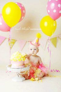 Light Pink and Yellow - Custom Party Hat / Headband (pick you colors)