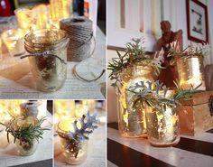 Gold Leaf Candles DIY - actual gold leaf? Eek