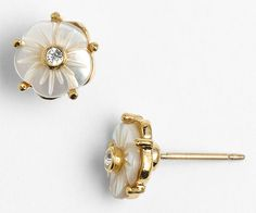Kate Spade Crystal Corsage Studs   15 Things to Buy + DIY for a Summer Wedding
