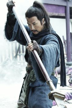 "The 36th Blogger of Shaolin. Donnie Yen in ""The Lost Bladesman""."