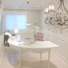 Ideas home office decor glam for 2019 – Chic Home Office Design Home Office Closet, Home Office Organization, Home Office Space, Office Workspace, Home Office Design, Home Office Decor, Home Design, Office Ideas, Organization Ideas