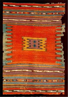 Turkish Tribal Rugs | Turkish Rugs: Karapinar Kelim 17th/18th C. from Bertram Frauenknecht