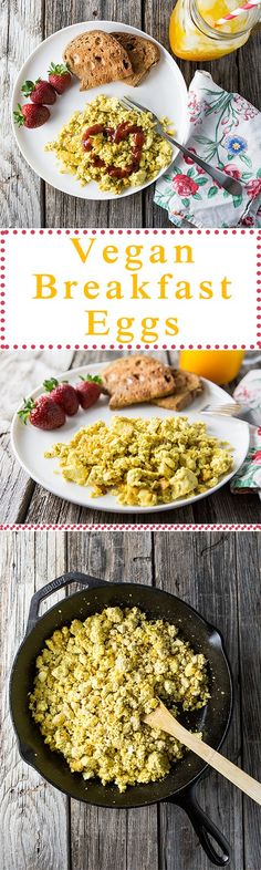 Vegan Breakfast Eggs