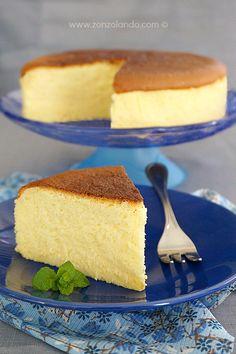 Japanese soufflé cheesecake | From Zonzolando.com