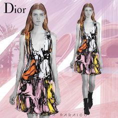 Dior Cruise 2016 Fashion Show at Le Palais Bulles #Dior #DiorCruise #DiorFashionShow #Dior2016 #Fashion #FashionShow #DiorCollection #fashionillustration #Illustration #Illustrator #FashionArt #InstaArt #FashionCollection #FashionDesign #FashionArt