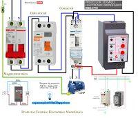 Esquemas eléctricos: Esquema eléctrico protector térmico electrónico mo...