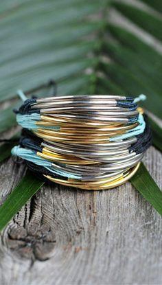 Pura Vida bracelets give an effortless bohemian look.