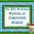 I hope you enjoy this fun SEASONAL compound word work activity! With an ELF theme, it's perfect for the Christmas/Winter holiday season. This min...