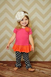Adorable photo by #LouLouPhotography, outfit by #TaylorJoelleDesigns
