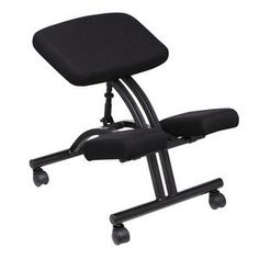 Sit more comfortably and enjoy better support with fully adjustable ergonomic chairs and kneeling chairs from Officeworks. Kneeling Stool, Desk Organization, Organizing, Ergonomic Chair, Home Furnishings, Home Office, Alternative, Furniture, Future Classroom