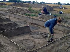 6,000 year old settlement unearthed in Poland.  Archaeologists in Browina (Kujawsko-Pomorskie) discovered objects attesting to far-reaching contacts of the first farmers living in the area of today's Poland. Excavations at Browina [Credit: O.Łukomska, B.Rzepkowski]