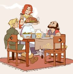 Dinner Time at Lon Lon Ranch : zelda The Legend Of Zelda, Legend Of Zelda Memes, Legend Of Zelda Breath, Oot Link, Link Zelda, Malon Zelda, Character Art, Character Design, Character Inspiration