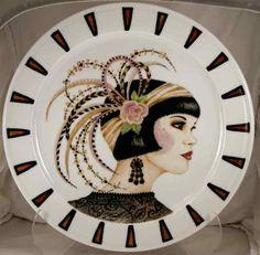 Art Deco Lady by Jean Colbear