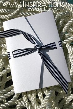 Nautical Wedding Invitations - Tying the Knot.