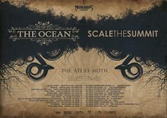 NEWS: The post-metal band, The Ocean, has announced a co-headlining North American Tour with Scale The Summit. The tour will also feature special guests, Atlas Moth and Silver Snakes. You can check out the dates and details at http://digtb.us/theoceantour