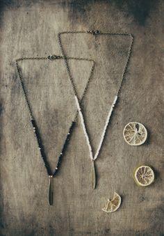 Drop necklace boho necklace bohemian necklace hippie