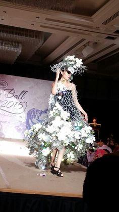 Floral designer society of Singapore - dream ball. 2015