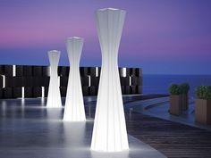 Floor lamp FROZEN LAMP LIGHT by PLUST Collection by euro3plast design Matteo…