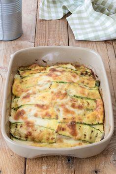 Healthy Snacks, Healthy Eating, Healthy Recipes, Flan, Cena Light, Antipasto, Finger Foods, Italian Recipes, Zucchini