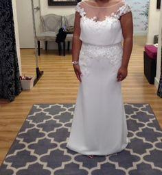 Enzoani 'Harlem' size 12 sample wedding dress - Nearly Newlywed