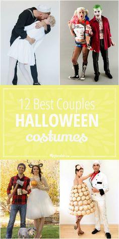 12 Best Halloween costumes for couples. via @tipjunkie
