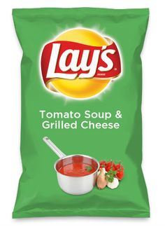 Wouldn't Tomato Soup & Grilled Cheese be yummy as a chip? Lay's Do Us A Flavor is back, and the search is on for the yummiest flavor idea. Create a flavor, choose a chip and you could win $1 million! https://www.dousaflavor.com See Rules.