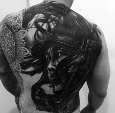 125 Best Back Tattoos For Men Samurai Warrior Back Tattoo – Best Back Tattoos For Men: Cool Back Tattoo Designs For Guys – Men's Upper, Lower, Full Back Tattoo Ideas Big Cover Up Tattoos, Small Back Tattoos, Cool Back Tattoos, Upper Back Tattoos, Full Tattoo, Back Tattoos For Guys, Large Tattoos, Tatuaje Cover Up, Backpiece Tattoo