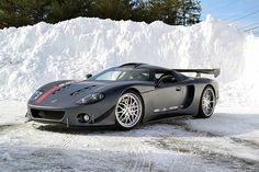Photo Gallery of Factory Five Cars in the Snow - Factory Five Racing Factory Five, Good Looking Cars, Gt Cars, Pony Car, Ford Gt, Future Car, Exotic Cars, Sport Cars, Concept Cars