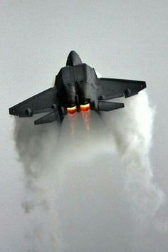 Raptor Inverted thrust Vector ripping through the sky. My dream fighter jet Military Jets, Military Aircraft, Navy Aircraft, Air Fighter, Fighter Jets, Carros Bmw, Photo Avion, F22 Raptor, Landing