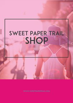 Sweet Paper Trail Shop - Pinterest Board Cover Design