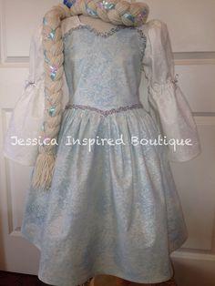 Sadie's Elsa dress -- Frozen Inspired Queen Elsa - Elsa Dress