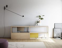 Kai shelving system by France-based designer Jean Louis Iratzoki.