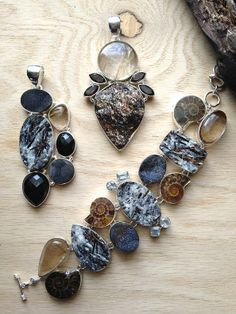 ∆∆∇∇ elementality | jewelry + clothing -some of our newest incredible semi-precious stone pieces!