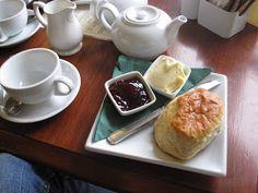 Tea Room di Miss Marple di, East Looe, Cornovaglia, Inghilterra: The Tea gastronomo