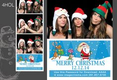 4HOL Let Santa and his helpers help you make your event perfect! #photobooth  imagecinea.com