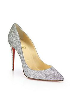Christian Louboutin Pigalle Follie Glitter Pumps