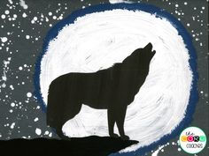 Wolf painting respon