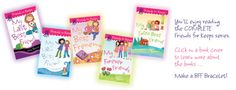 Cute books for girls with a how to BFF bracelet