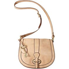 Fossil Vintage Re-Issue Flap Cross-Body Bag ($178) ❤ liked on Polyvore