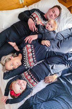 Family Pjs, Matching Family Christmas Pajamas, Matching Pajamas, Holiday Fashion, Holiday Outfits, Care Bear Costumes, Long Johns, Pj Sets, Holiday Time