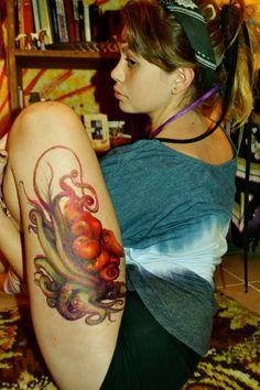 Shantal's octopus