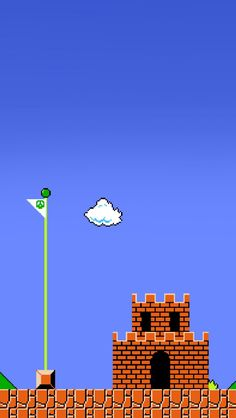 Super Mario Brothers Wallpaper for iPhone 5