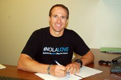 Deal is Done: Drew Brees signs his new contract with the New Orleans Saints! (Saints Photo) #Saints #NOLA #WhoDat