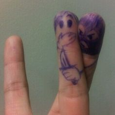 From my LOL board. I laugh every time I see on of these finger art pics. Charlie Chaplin, Haha Funny, Hilarious, Funny Stuff, Funny Things, Funny Shit, Random Stuff, Random Things, Crazy Funny