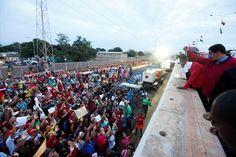 Son más los que conforman sus anillos de seguridad que los que asisten a sus mítines, Palo Negro, Maracaibo 20J