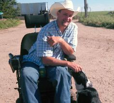 Training Service Dogs to Help Farmers with Disabilities.