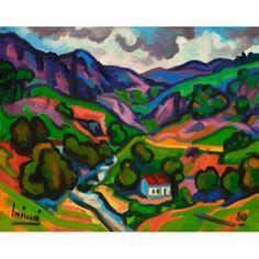 Inimá de Paula Paisagem Espirito Santo - ost - 1980 - 40 x 50 #inamadepaula #auction #art #painting #decor